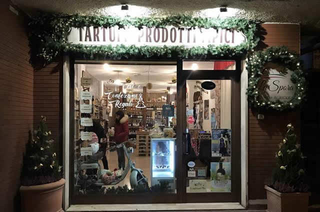 Roccaraso truffle shop