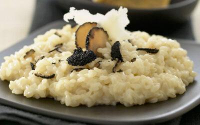 Risotto al tartufo uncinato: la ricetta